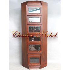 Шкаф книжный (угловой элемент) 14100