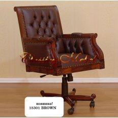 Кабинетное кресло 62x57x106 XT-15301 Brown